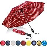 [Amazonブランド] Eono(イオーノ)傘 折りたたみ傘 自動開閉 ワンタッチ 様々な様式 メンズ レディーズ 台風対応 梅雨対策 軽量 超撥水 おりたたみ傘 高強度グラスファイバー ビッグサイズ 晴雨兼用 収納ポーチ付き