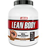 Lean Body All-In-One Chocolate Meal Replacement Shake. 35g Protein, Whey Blend, 7g Healthy Fats & Fibre, 22 Vitamins and Mine