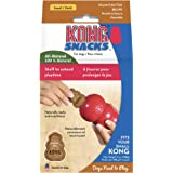 KONG - Snacks - All Natural Dog Treats (Best Used with KONG Classic Rubber Toys) - Peanut Butter Biscuits - for Small Dogs