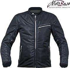 モトベース(MOTO BASE)2018年 春夏モデル メッシュジャケット クールメッシュシングルライダースジャケット MBMJ-02 【ブラック/LL】