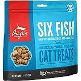 Orijen Six Fish Freeze-Dried Cat Treats | Biologically Appropriate | 1.25oz