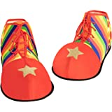 Spooktacular Creations Halloween Jumbo Clown Shoes Unisex Costumes, Accessories, Props, Kits for Halloween, Carnival Cosplay,