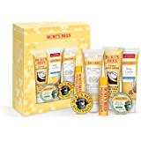 Burt's Bees Timeless Minis Kit With Coconut Foot Cream, Milk & Honey Body Lotion, Soap Bark & Chamomile Deep Cleansing Cream,