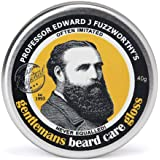 Professor Fuzzworthy's Beard Balm Gloss Leave in Conditioner All Natural Organic Beard Care with Leatherwood Honey & Essentia