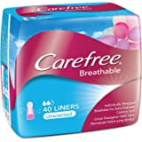 Carefree Breathable Panty Liners