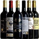 全てボルドー金賞受賞 赤ワイン 6本 ワイン セット 高樹齢 生産者元詰 贅沢飲み比べ 厳選セレクト 750ml 6本