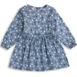 YOUNGER TREE Toddler Baby Girl Summer Polka Dot Dress Party Casual Skirts Ruffle Long Sleeve Holiday Clothes 1-5T