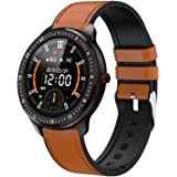 "DoSmarter Fitness Watch, 1.3"" Touchscreen Smart Watch with Heart Rate Blood Pressure Monitor,Waterproof Fitness Tracker with"
