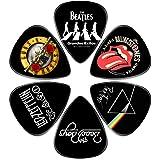 Guitar Picks - Surmoler 6 Pack Universal Plastic Guitar Picks for Acoustic and Electric Guitar (My favorite band)
