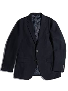 Homespun 2-button Jacket 3222-199-1995: Navy