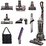Dyson Ball (Formerly DC65) Animal + Allergy Complete Upright Vacuum with 7 Tools - HEPA Filtered - Corded (Silver 7 Tools + A