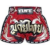 TUFF Sport Retro Muay Thai Boxing Shorts Martial Arts Clothing Training Gym Trunks Classic Slim Cut
