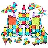 Jasonwell 108pcs マグネットブロック 磁気おもちゃ マグネットおもちゃ コンストラクト 磁石ブロック 子供 知育玩具 幼児 に 人気 の おもちゃ 男の子 おもちゃ 日本語バッケージ 磁石玩具 立体パズル ゲーム モデル DIY 積み