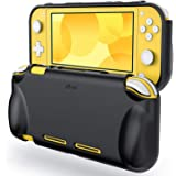 JETech Protective Case for Nintendo Switch Lite 2019, Grip Cover with Shock-Absorption and Anti-Scratch Design (Black)
