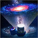 Kids Night Light Projector - Star Light Projector with USB Cable, 360 Degree Rotation Kids Star Projector Lamp Bedroom Star P