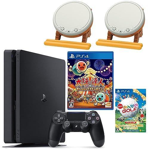 PlayStation 4 500GB + 太鼓の達人 セッションでドドンがドン!+New みんなのGOLF