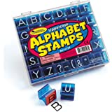 Learning Resources Uppercase Alphabet and Punctuation Stamps,Multi-color,LER0597