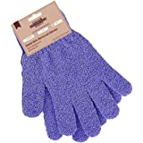 Exclaim Beauty Exfoliating Gloves Body Scrubber Gloves For Shower, Spa, Massage Shower Gloves Dual Texture Bath Gloves | Dead