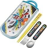 スケーター 弁当用箸 子供用 トリオセット 箸 スプーン フォーク トミカ 20 16.5cm TACC2
