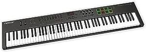Nektar Technology IMPACT LX88+ DAW連携MIDIキーボードコントローラー エンコーダー/フェーダー/トランスポートボタン/パッド搭載【国内正規品】