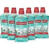 Colgate Plax Active Salt Mouthwash 1L [Case of 6] Value Deal