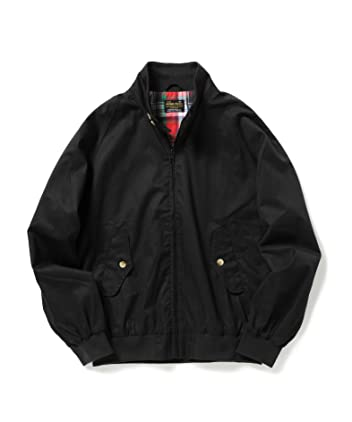 Perma-Prest Cotton Twill Blouson: Black