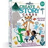 eeBoo Volcano Island Create A Story Pre-Literacy Cards