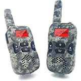 iCore Walkie Talkies for Kids Rechargeable, Toys Long Range Talkie 2 Way Radios (Pair), Discovery Childrens 22 Channel Walky