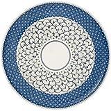Villeroy & Boch Casale Blu Pizza Plate, 32 cm, Premium Porcelain, Blue/White
