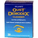 Oust Demodex Cleanser Pads by Ocusoft