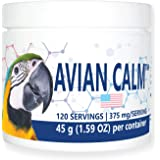Equa Holistics, LLC. Avian Calm Dietary Supplement for Parrots, All-Natural Calming Supplement (120 Servings)
