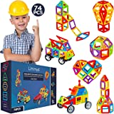 Limmys Magnetic Building Blocks – Unique Travel Series Construction Toys for Boys and Girls – STEM Educational Toy – Includes