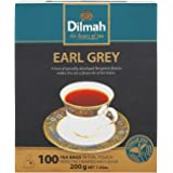 Dilmah Early Grey Tea 100 Teabags, 200 g