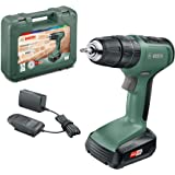 Bosch Cordless Hammer Impact Drill UniversalImpact 18 (1 Battery, 18 Volt System, in Case)