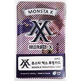 MONSTA X - TRANSPARENT PHOTO CARDS 25pcs [FAN GOODS]