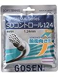 ゴーセン(GOSEN) ソフトテニス ガット ウミシマ SDコントロール 11.5m ホワイト