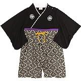袴 ロンパース 男の子 ベビー 赤ちゃん はかま 和装 カバーオール フォーマル
