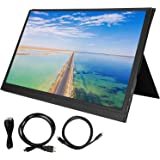Exquisite Portable Display, 3‑Side Narrow Great Workmanship 1080P Display Screen, Laptop for Home Notebook PC Game