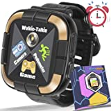 Kids Smartwatch with Game Boys Girls Smart Watch Walkie Talkie Camera 1.5 Touch Digital Fitness Pedometer Timer Toddlers Wris