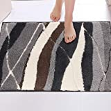 Door Mat Inside,20X31.5 inch Non-Slip Rubber Backing Front Doormat Super Absorbent Mud and Water Entrance Door Rug Low-Profil