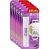 江崎グリコ ブレオスーパー タブレット(BREOSUPER)<グレープミント> 14粒×5個 オーラルケア 口臭ケア