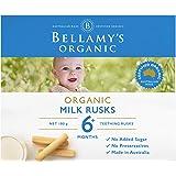 Bellamy's Organic Toothiepegs Milk Rusks, 100g