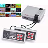 DigitCont Plug & Play Classic Mini 2ND GEN Console, Built-in with 620 Classic Retro Games 2 Players Mode Console TV Output Br