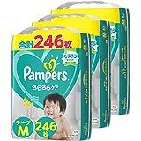 【テープ Mサイズ】パンパース オムツ さらさらケア (6~11kg) 246枚(82枚×3パック) [ケース品] 【Amazon限定品】
