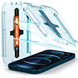 Spigen AGL01791 Tempered Glass Screen Protector [Glas.tR EZ Fit] Designed for iPhone 12 Pro Max (2020) [6.7 inch] [Case Frien