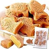 多田製菓 天然生活 もっちり たい焼き クリーム (15個) ミニ鯛焼き 和菓子 個包装 おやつ 常温 スイーツ