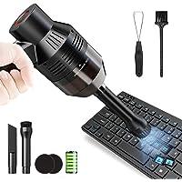 [アップグレード版] キーボード掃除 PCキーボード掃除機 卓上クリーナー ハンディクリーナー エアダスター ミニクリー…