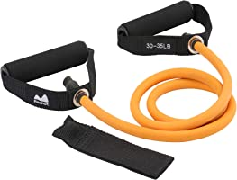 Reehut Single Resistance Band, Exercise Band with Door Anchor, Manual, Carry Bag - for Resistance Training, Strength...