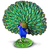 CollectA Farm Life Peacock Toy Figure - Authentic Hand Painted Model