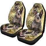 PetOcean Dog Car Seat Cover - 100% Waterproof, Scratchproof, Nonslip, Durable Heavy Duty Hammock Dog Car Back Seat Cover, Mac